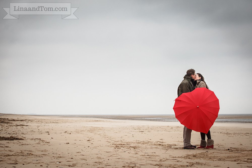 Wells-next-the-Sea Beach Pre-Wedding Shoot