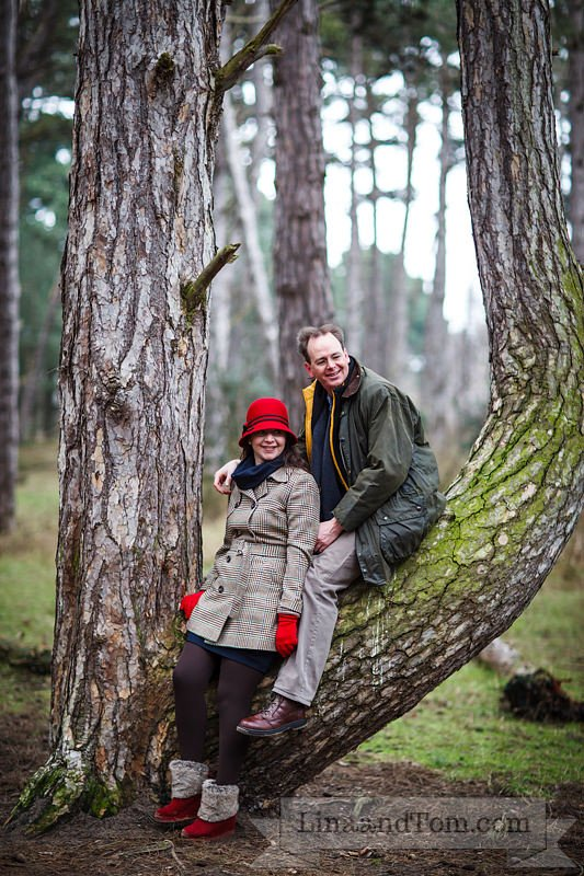 Wells-next-the-Sea Forest Pre-Wedding Shoot