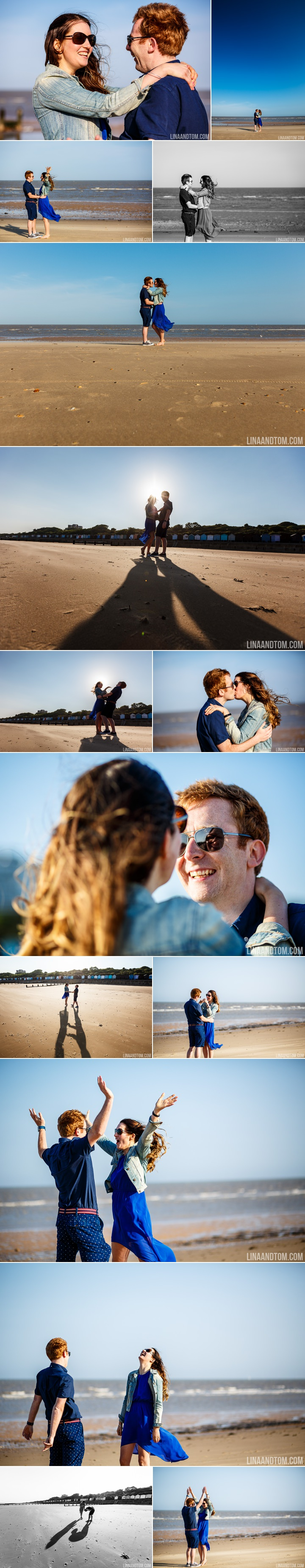 Beach pre wedding Shoot