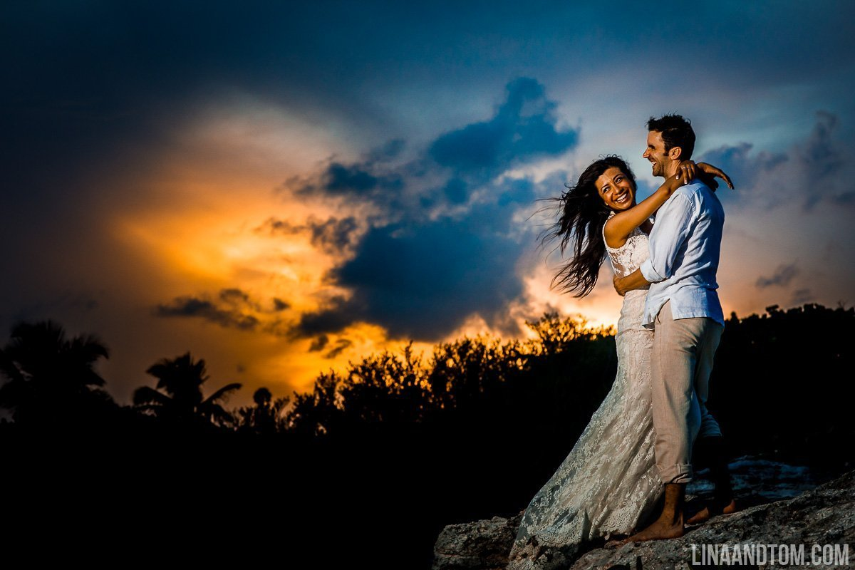 Blanca and Elliot - Meixco Wedding Photography