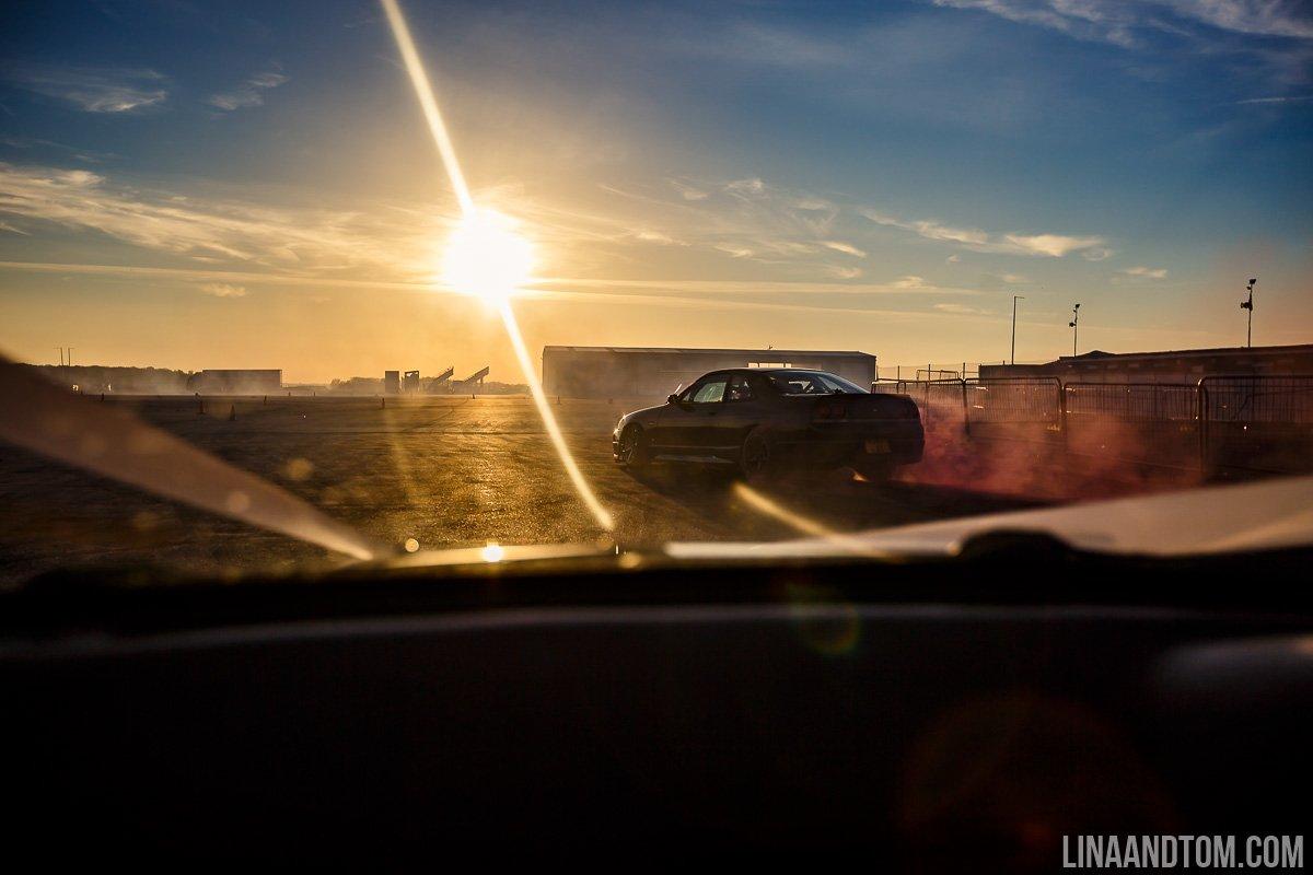 santa pod raceway drifting