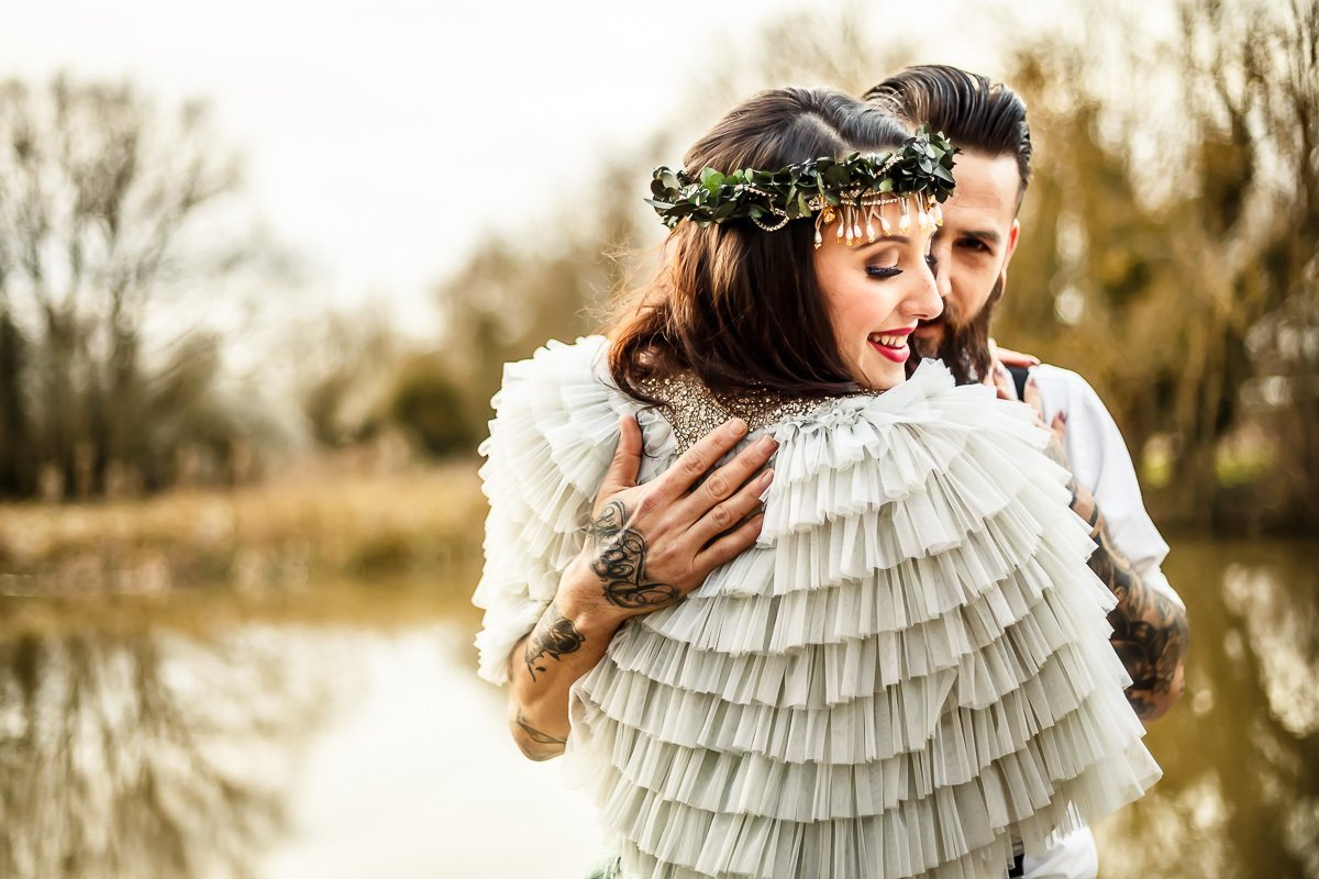 LinaandTom.com - Alternative Bride and Groom