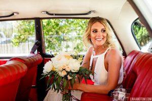 Vintage style wedding car - Ibiza destination weddings
