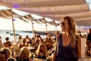 Pre-wedding drinks at an Ibizan destination weddings