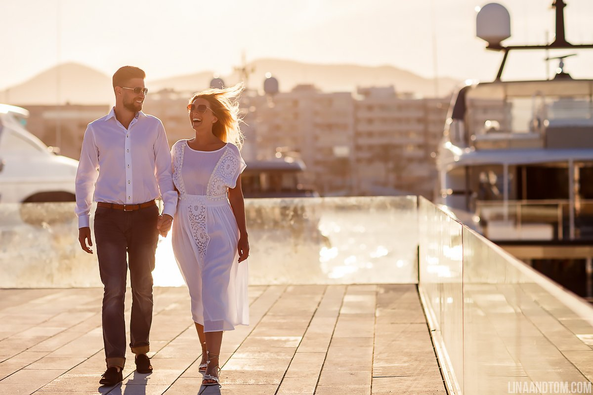 Stunning Ibiza Couple
