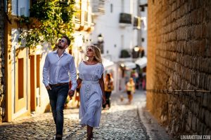 Old Town Ibiza Destination Wedding Photographer