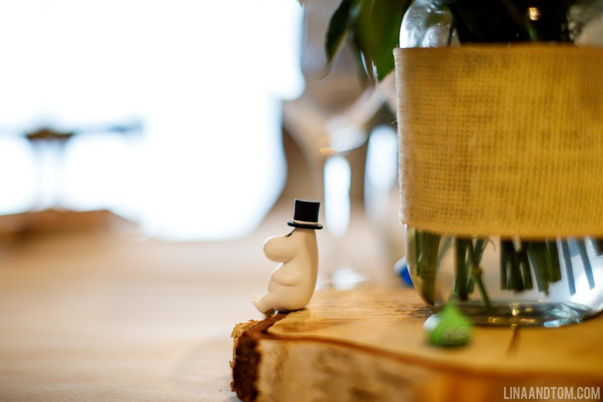 moomin wedding
