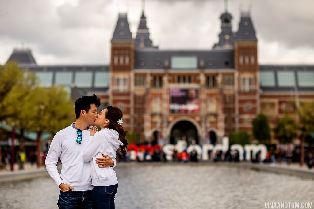 Rijksmuseum engagement shoot