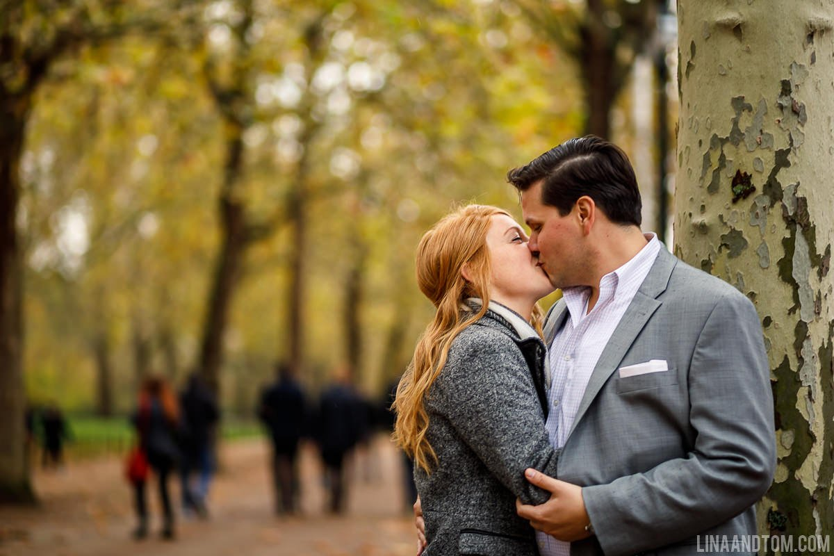Proposal and engagement shoot in London