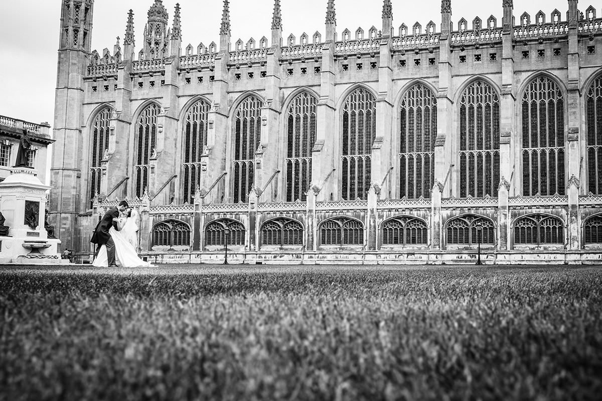 Fiona and Michal - Kings College Cambridge Wedding