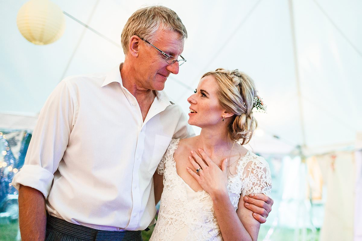 Bride and Dad - LinaandTom
