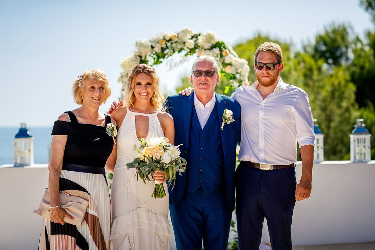 Ibiza Wedding Photos LinaandTom