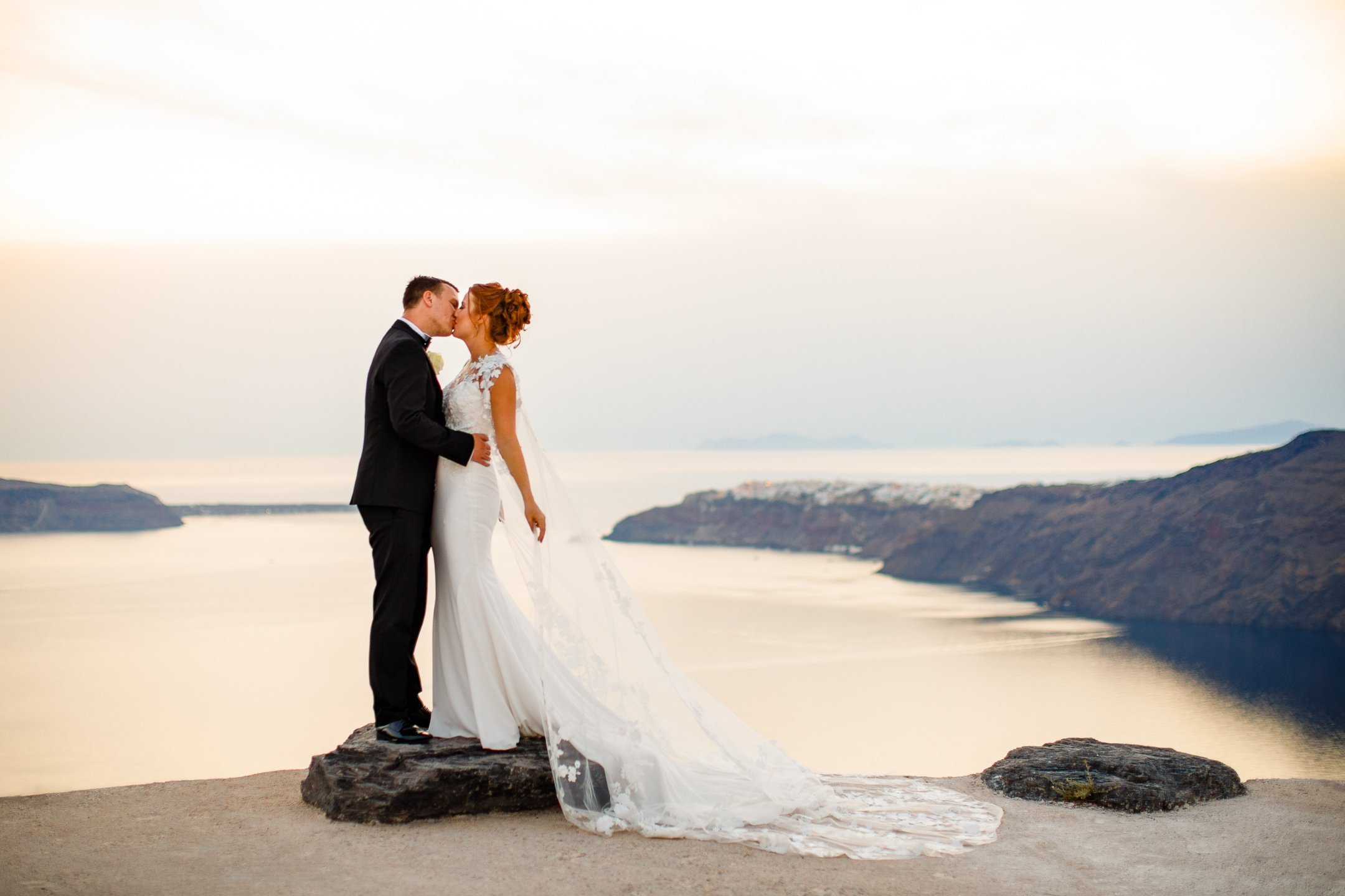 Santorini Rocabella Wedding Photographer
